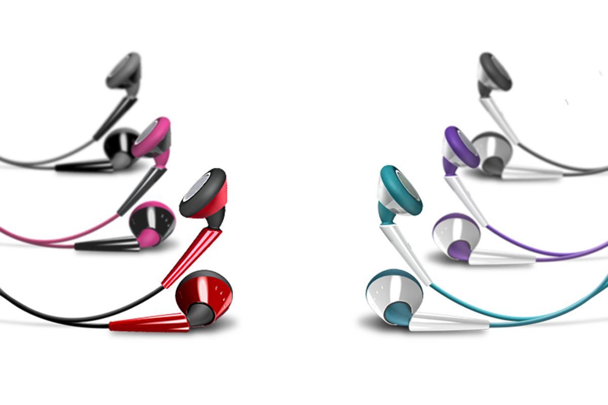 iSkin's earTone earphones color range