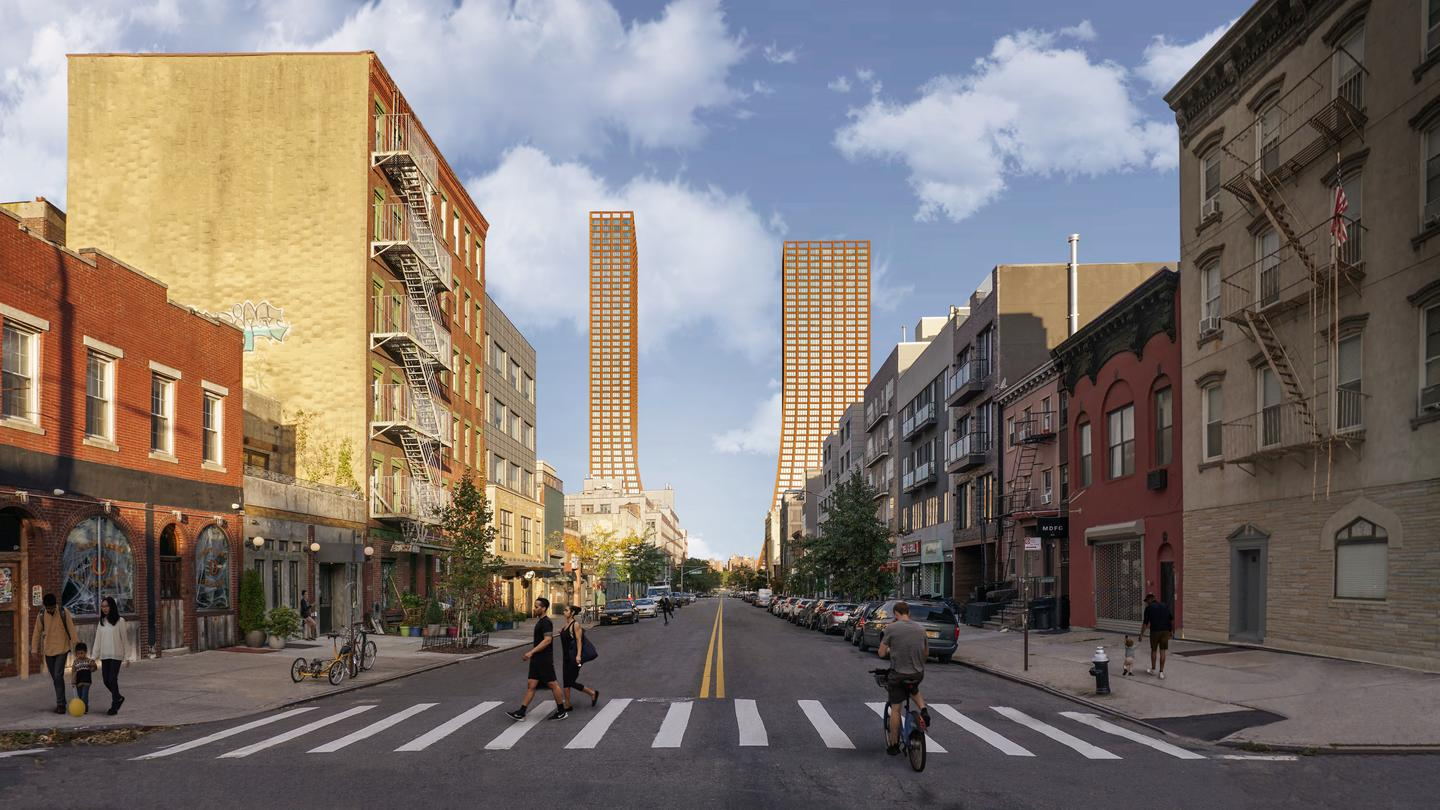 The River Street Waterfront Masterplan will be located in the Williamsburg area of Brooklyn, New York City