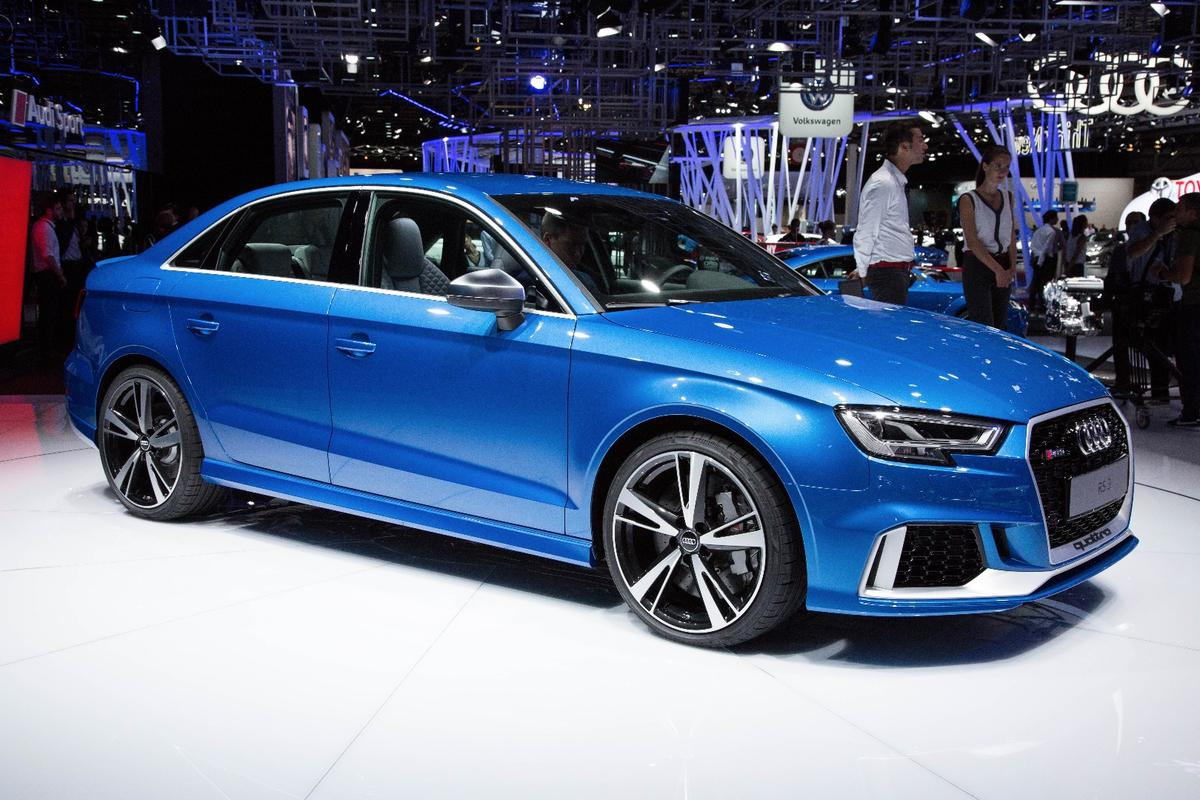 The RS3 sedan will be on the market from mid-2017