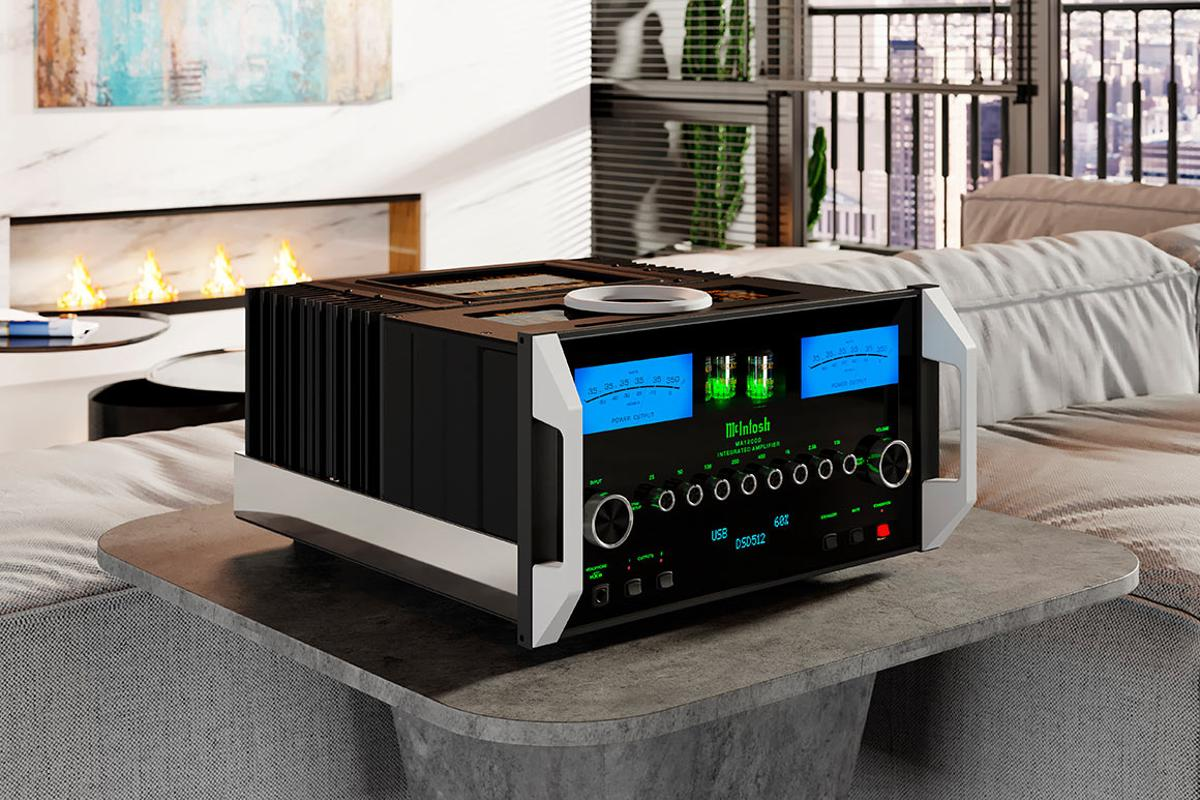 The MA12000 two-channel hybrid integrated amp features technology to ensure that all 350 watts are delivered to the connected speakers