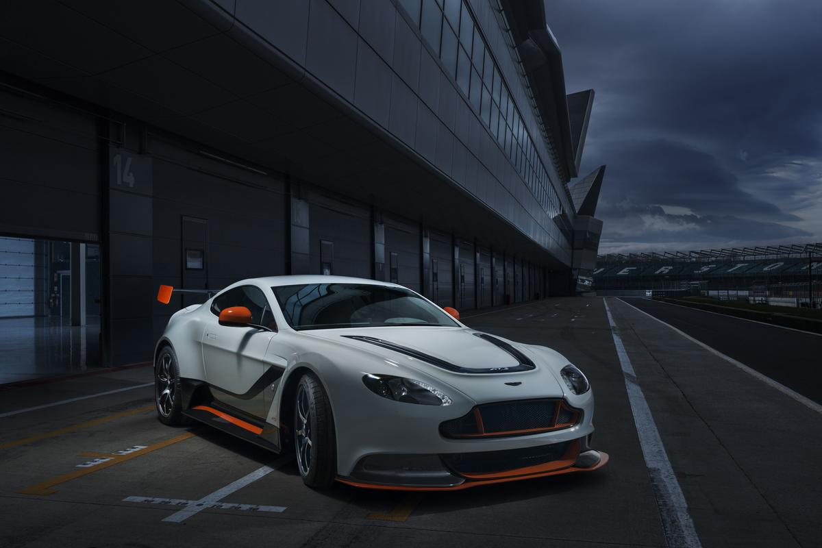 The Vantage GT3 won't be sold in the US or China