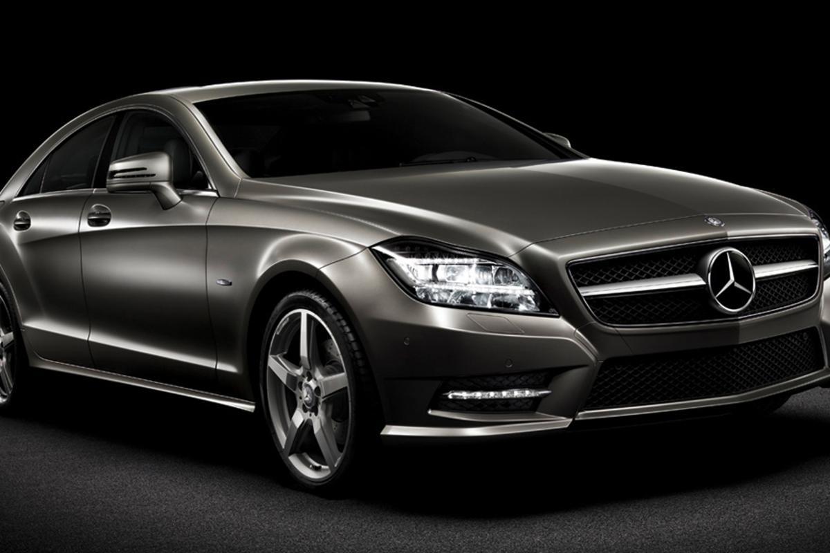 The 2012 Mercedes-Benz CLS