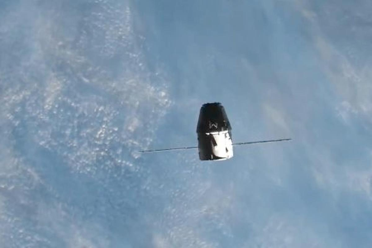 SpaceX has released a video containing highlights of its successful mission to the International Space Station