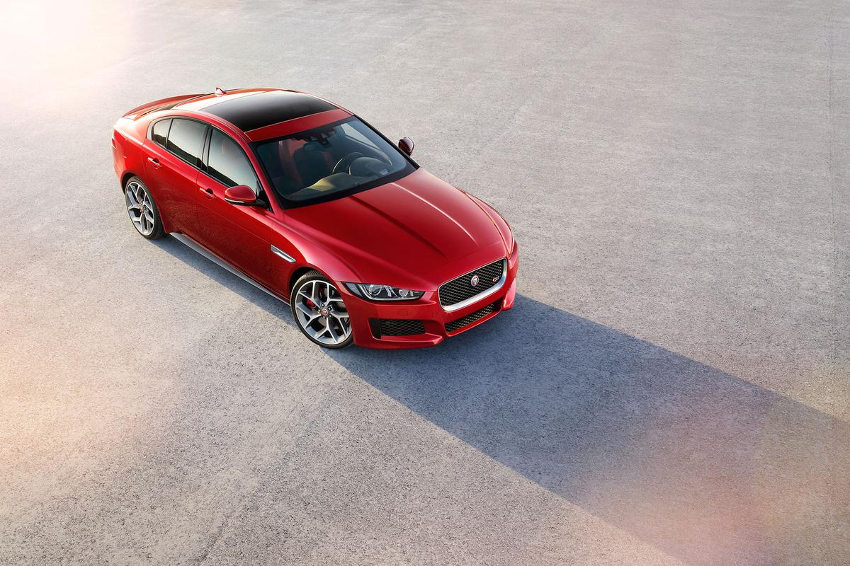 The XE will be on sale in early 2015, and makes a full debut at the Paris Motor Show in October