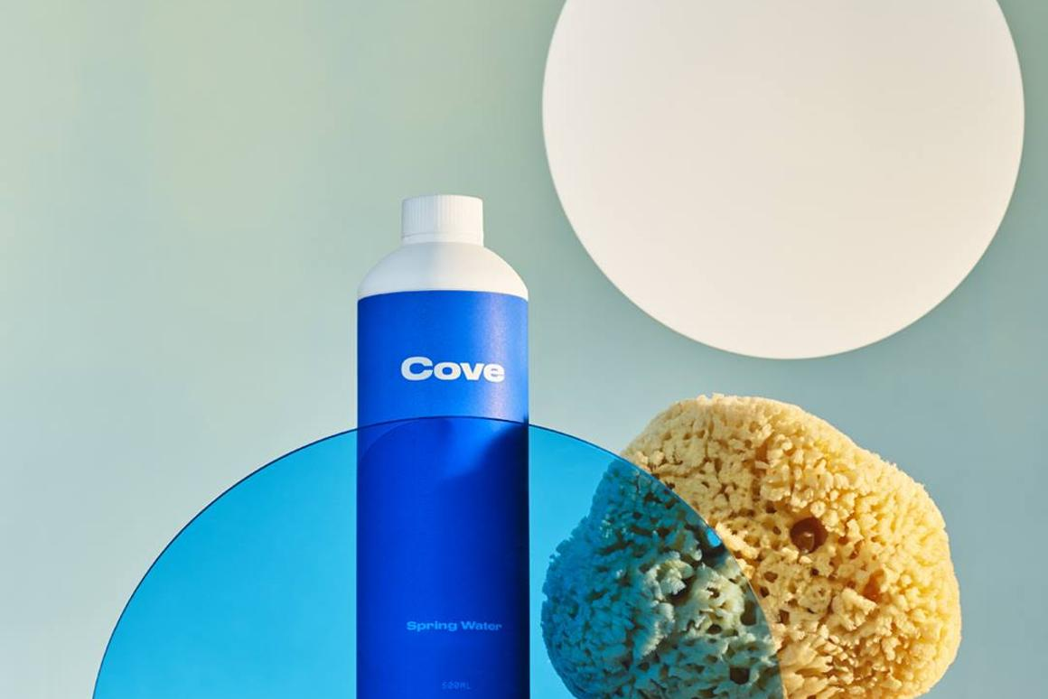 Spring water in Cove biodegradable PHA bottles will be available to Californiansfrom May, 2019