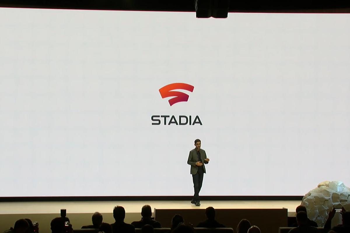 Google CEO Sundar Pichai announces Stadia