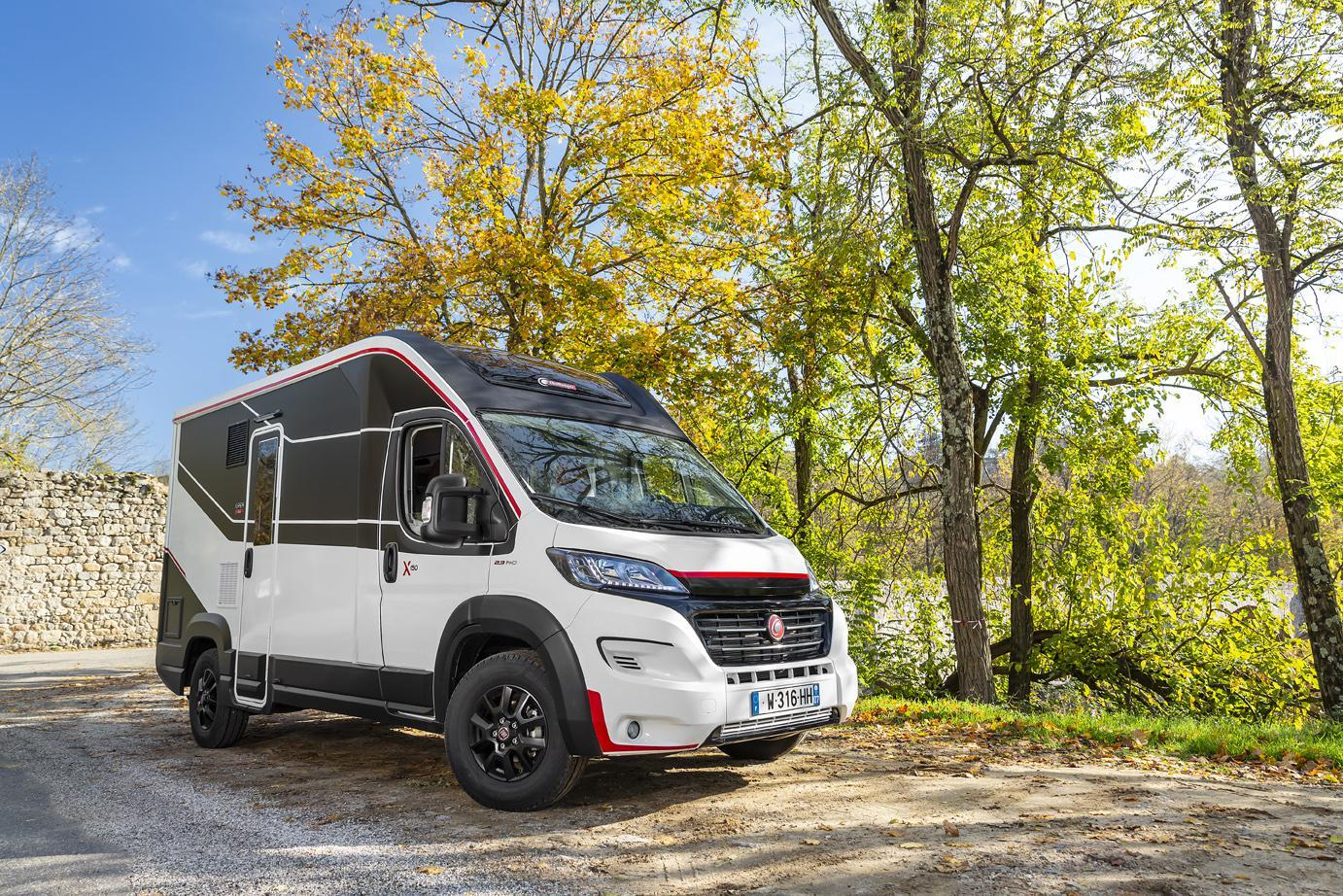 The Challenger Combo X150 has the wheelbase and length of a van but the interior of a small motorhome