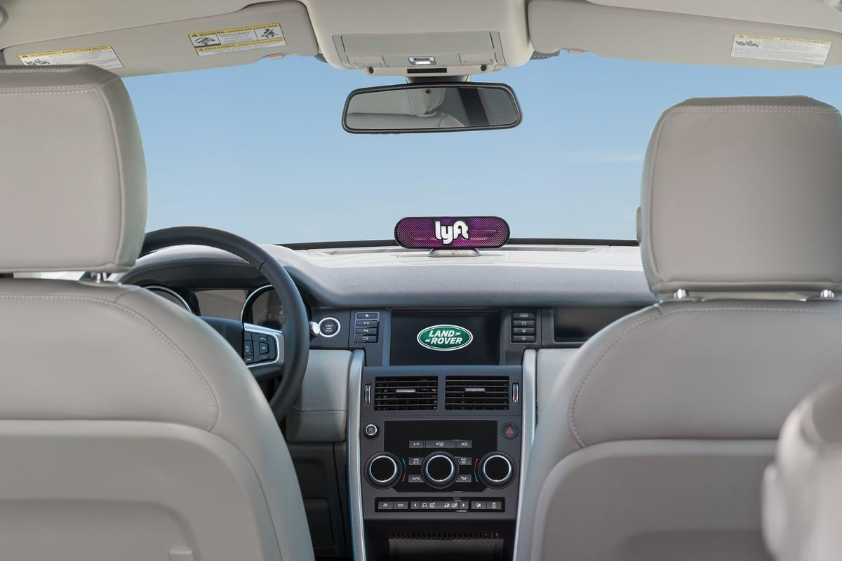 The agreement will see Lyft drivers provided with Jaguar Land Rover vehicles