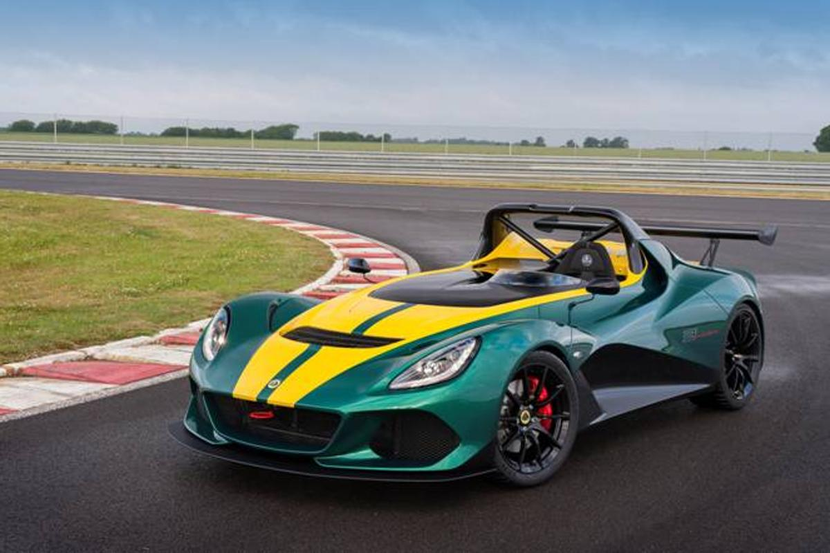 The Lotus 3-Eleven made its debut at the Goodwood Festival of Speed this weekend