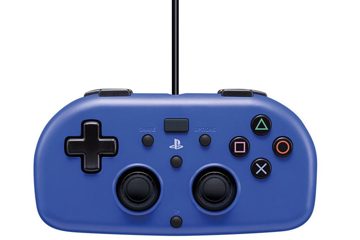 The Mini Wired Gamepad is a new controller for the PlayStation 4, specially designed for young gamers