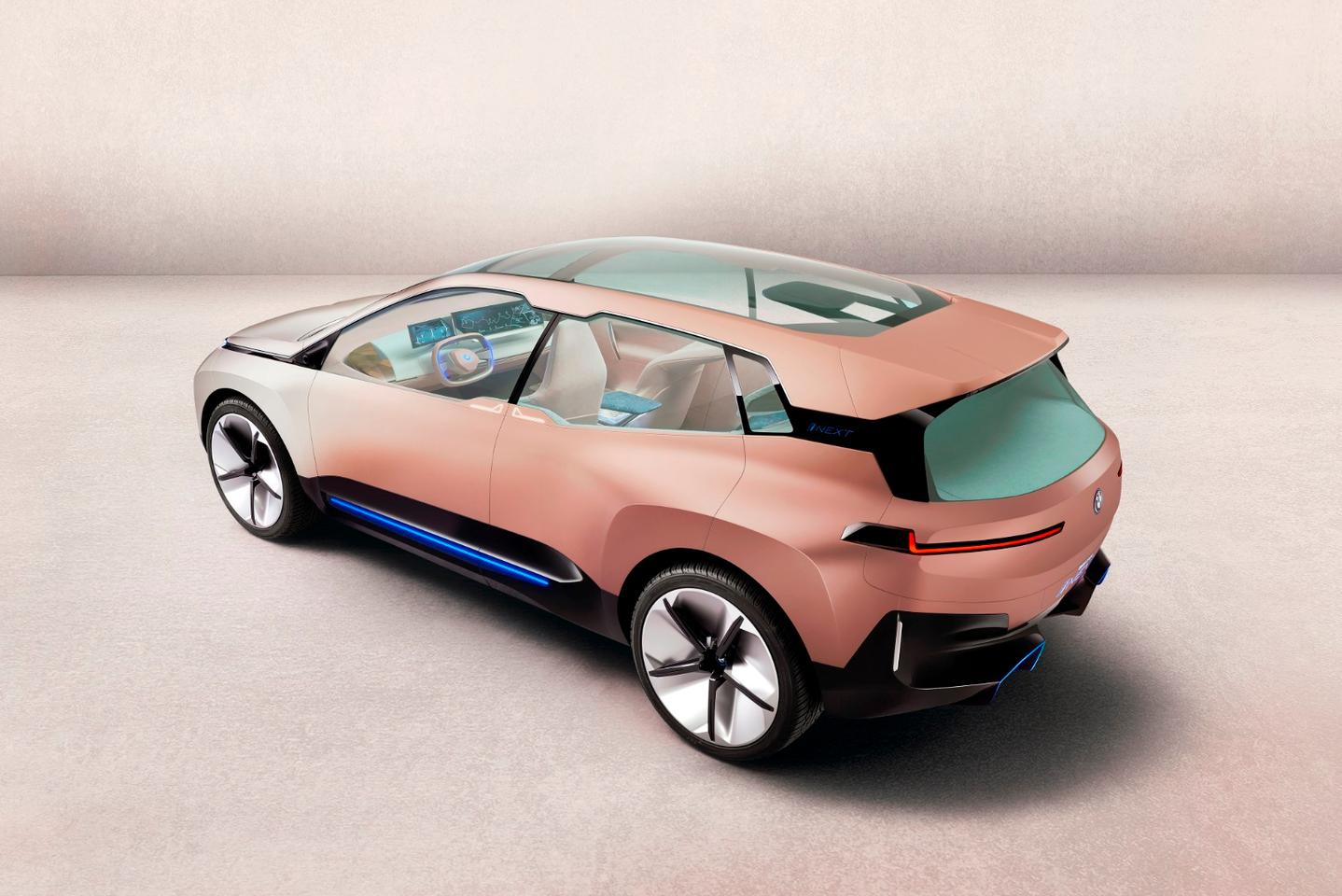 The BMWVision iNext carries a very i3 look to its design, and likely heralds the kind of futuristic aim the company will havegoing forward