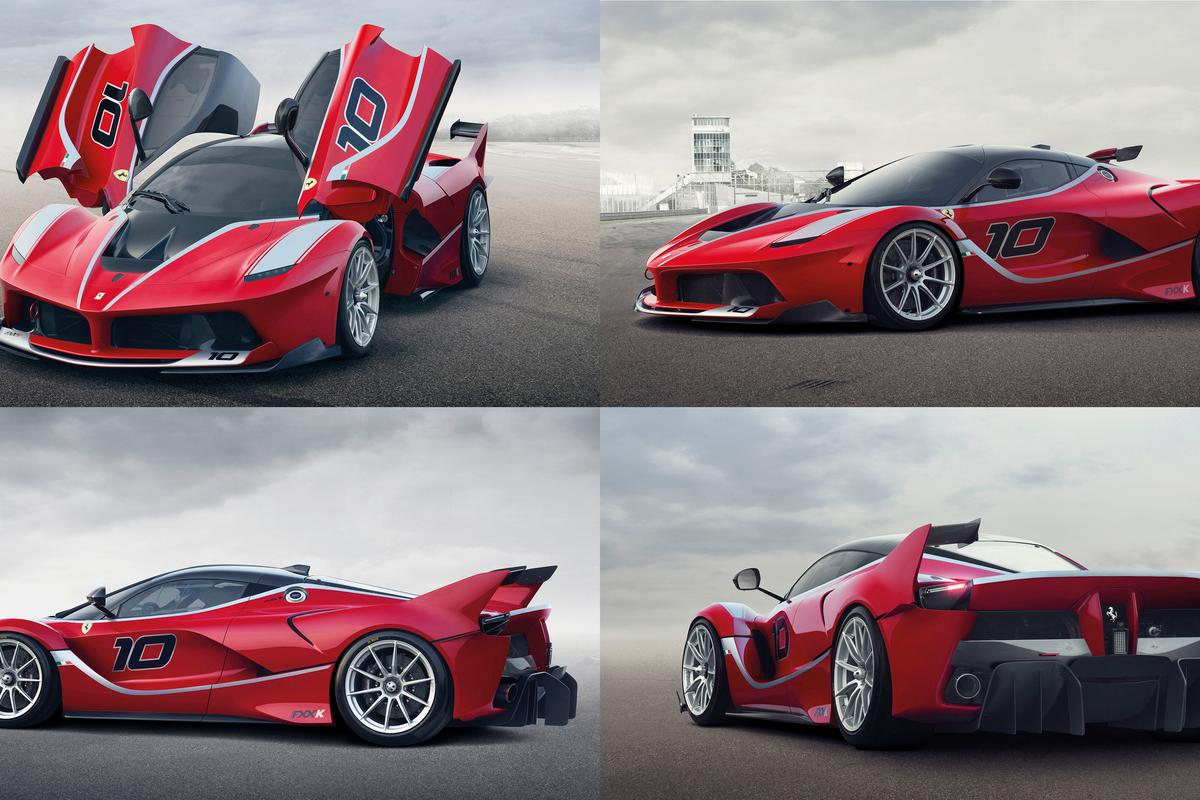 It is very unlikely that anyone who ever gets to drive one of these cars will have a net worth of less than US$100 million.