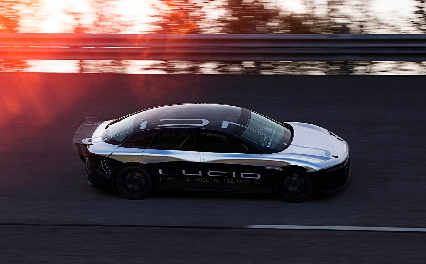 Lucid Motors Air Alpha Speed Car
