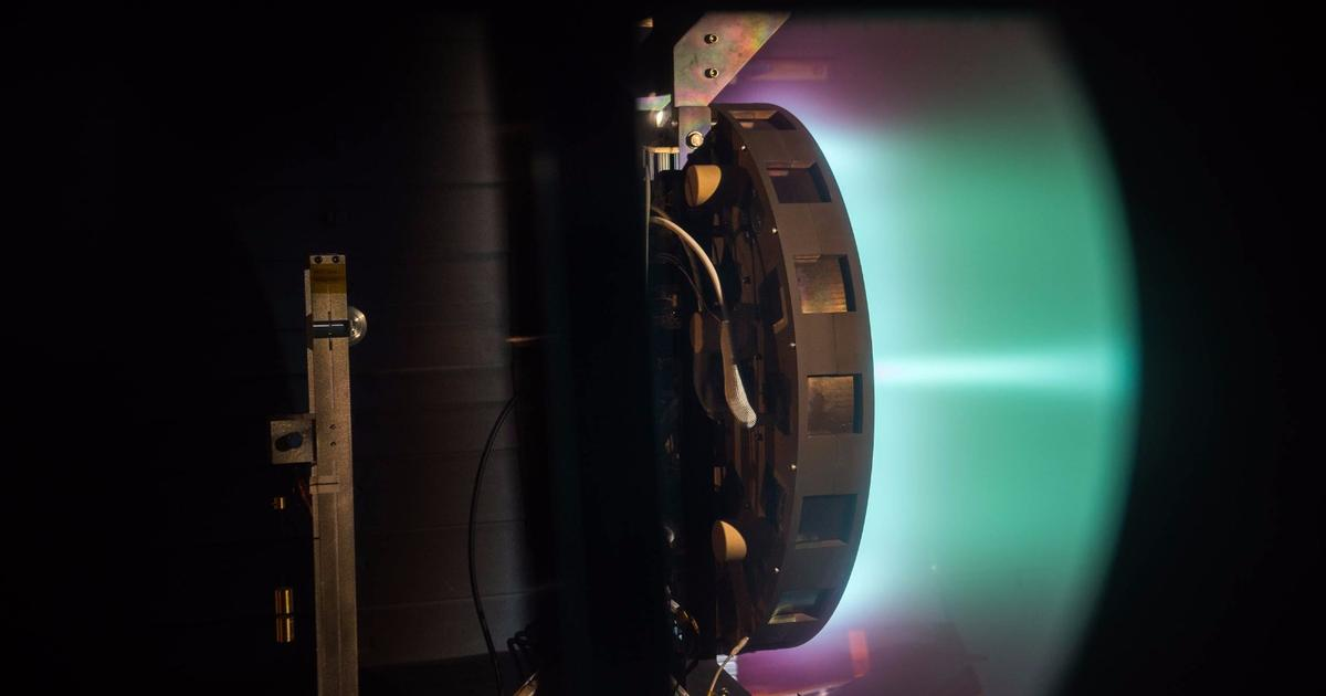 NASA's X3 ion thruster smashes records in test firings
