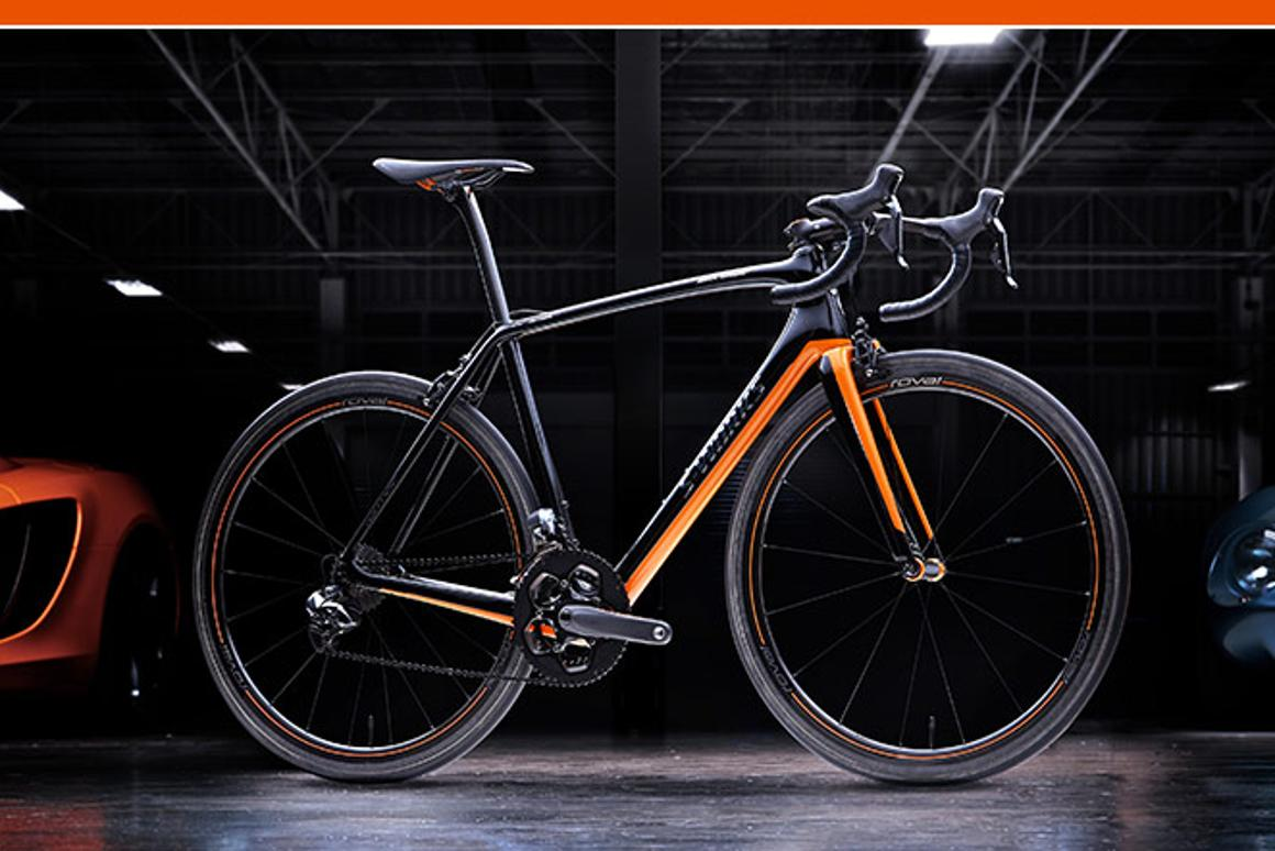 One of the relatively few S-Works McLaren Tarmac bicycles