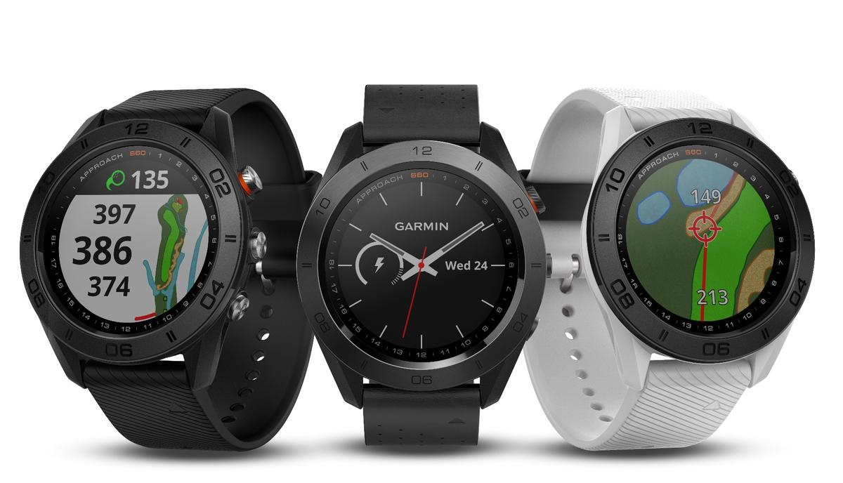 Garmin's Approach S60 golf watchcomes pre-loaded with 40,000 courses from around the world