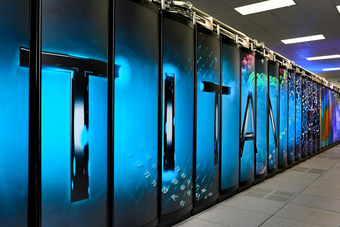 The Titan supercomputer