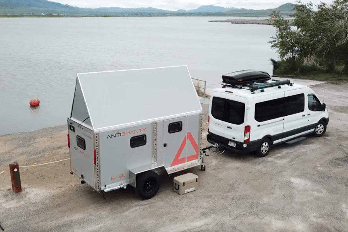 No indication on pricing, but it should be well cheaper than the other dual-personality gear-hauler/camper trailer we covered recently, the $50,000 SylvanSport Vast