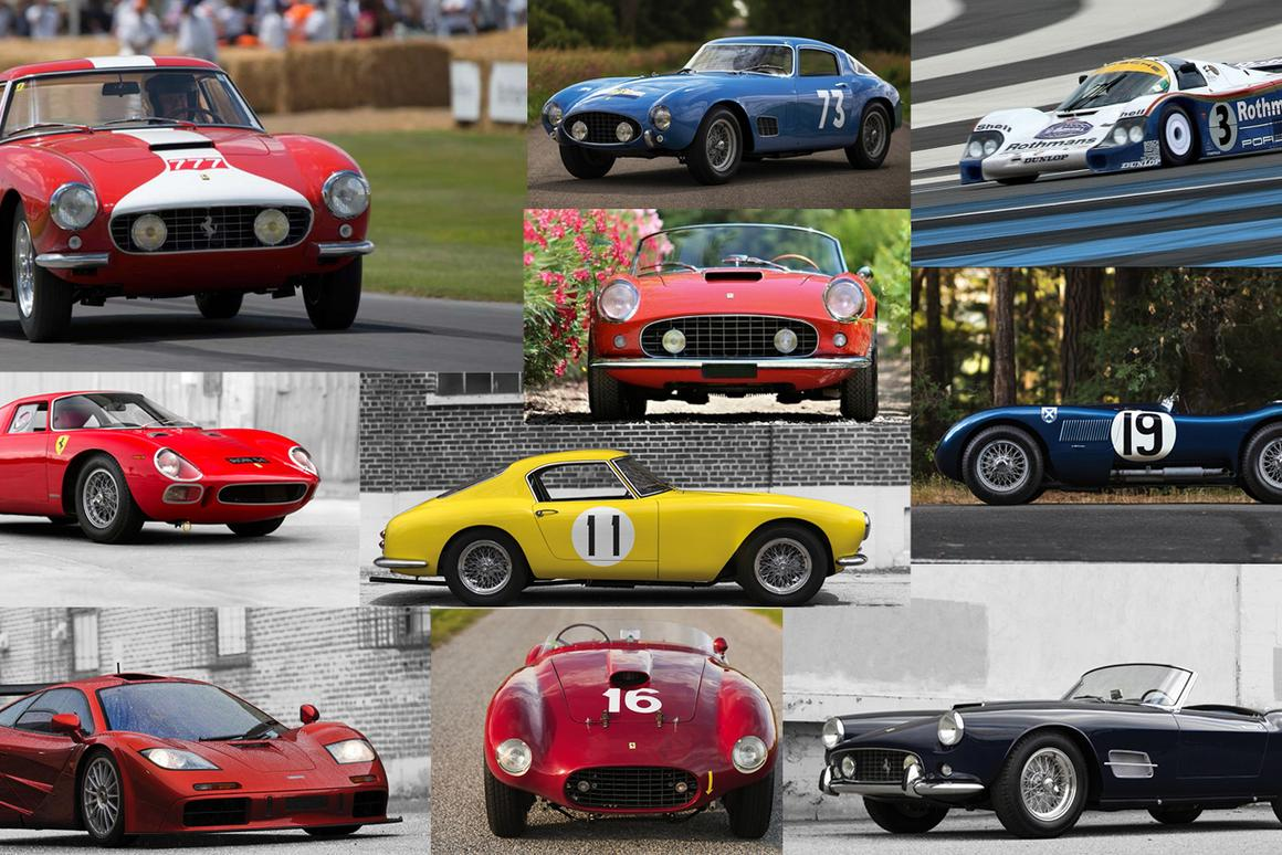 This year the number of outstanding collectible automobiles being offered at Monterey in mid-August is greater than ever before. Here's our rundown of the 10 cars that could achieve more than $10,000,000