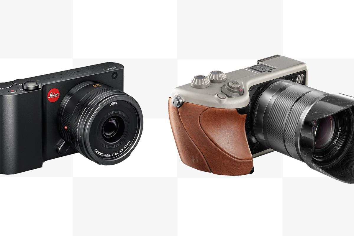 Gizmag compares the specs of the Leica T and Hasselblad Lunar luxury mirrorless cameras