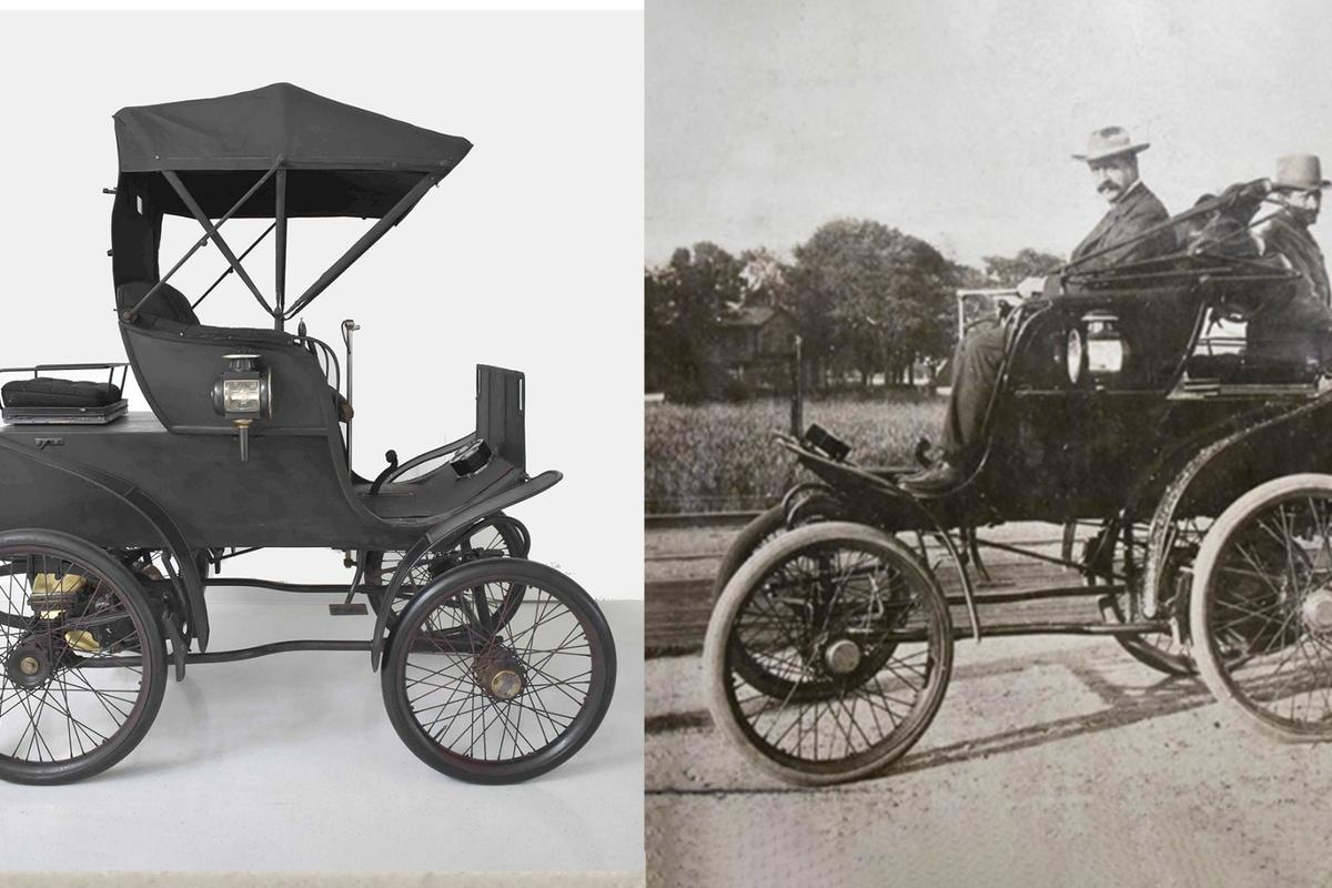 The 1898 Riker Electric is one of the oldest surviving cars in the world, and still working perfectly in original, unrestored condition