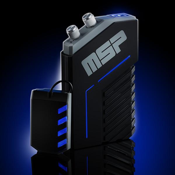 The Mega Sound Panic has LED accents