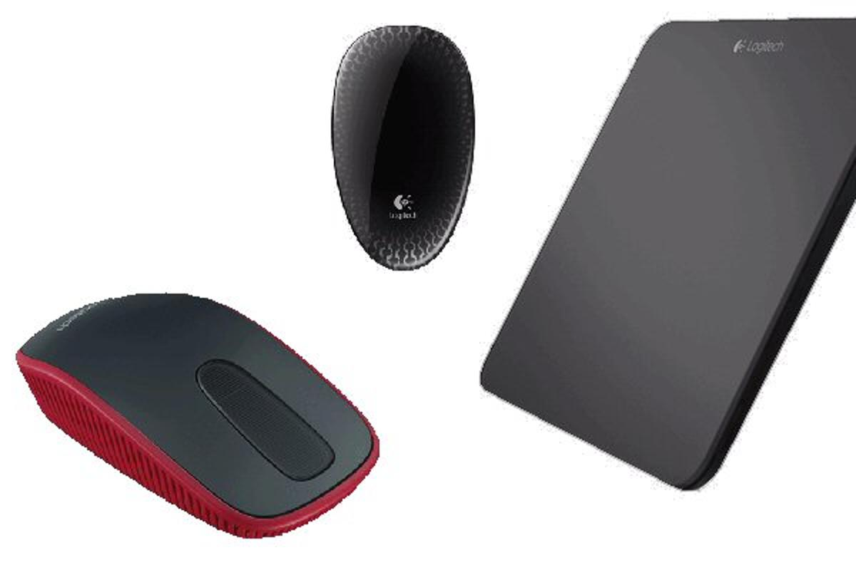 Logitech has announced three Windows 8 touch peripherals – the Wireless Rechargeable Touchpad T650, Touch Mouse T620 and Zone Touch Mouse T400