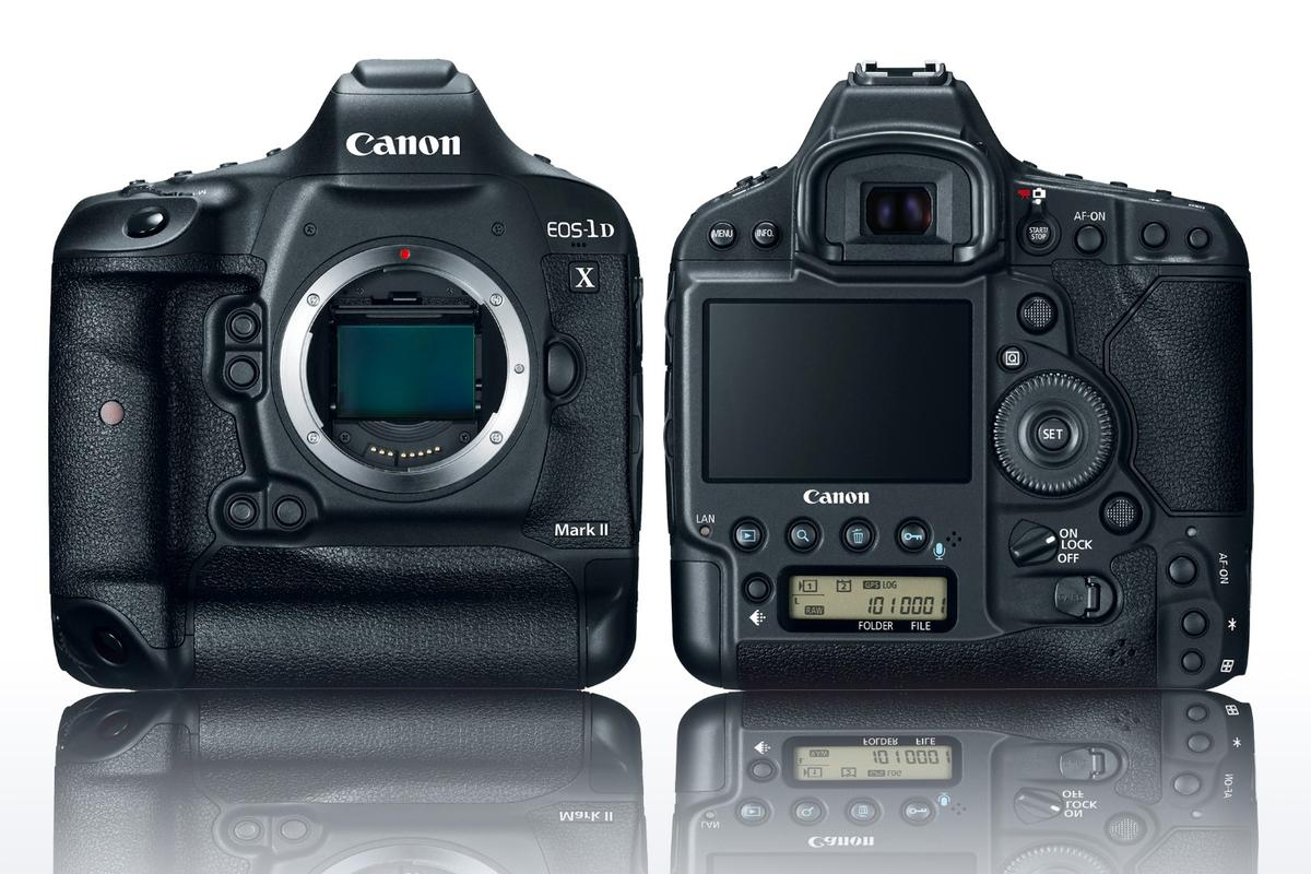 The EOS-1D X Mark II is the new flagship DSLR from Canon