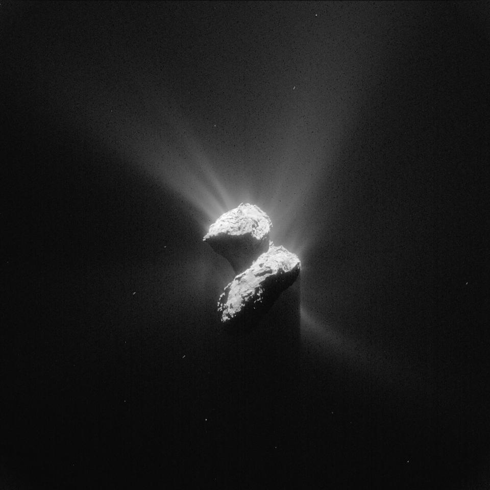 Comet 67P on June 5, 2015