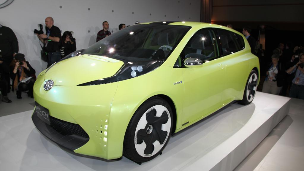 Toyota's FT-HC Concept at the 2010 NAIAS in Detroit
