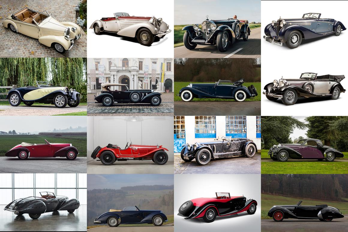Coachbuilt survivors from the Art Deco era
