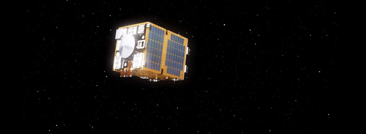 The RemoveDebris satellite will be deployed from the ISS