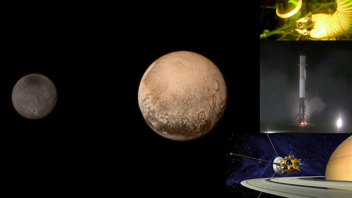 A look back at the space technology and exploration highlights of 2015