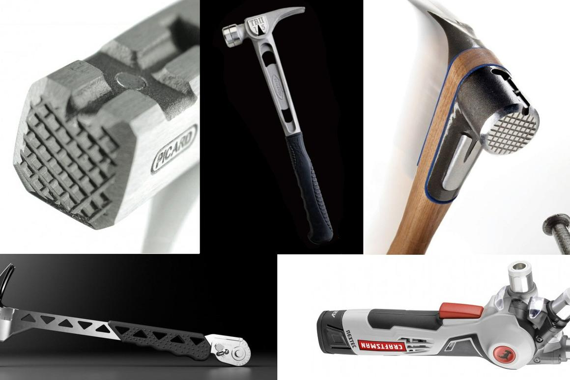 Five of Gizmag's favorite high-tech hammers