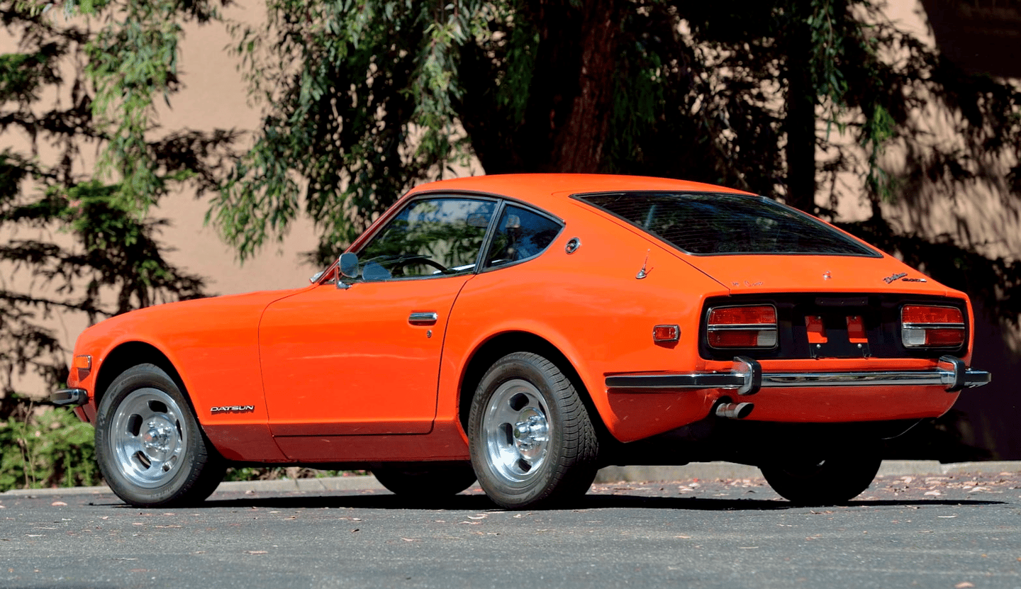 1973 Datsun 240Z | Estimate: from $60,000 to $75,000 | Auction House: Mecum | Official Auction Description