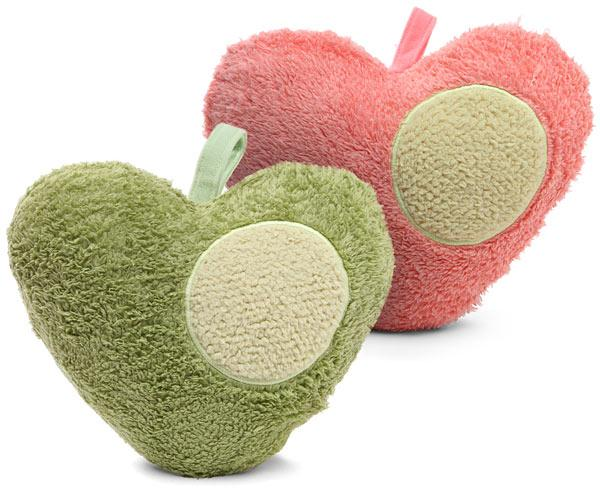 These anti-stress heart cushions vibrate with a special rhythmic heart beat to calm your nerves