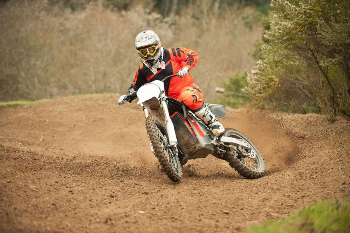 One of BRD's existing electric off-road motorbikes