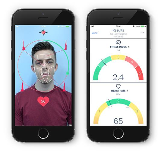 An app using the technology, called Anura, is currently available but it only tracks heart rate at this stage