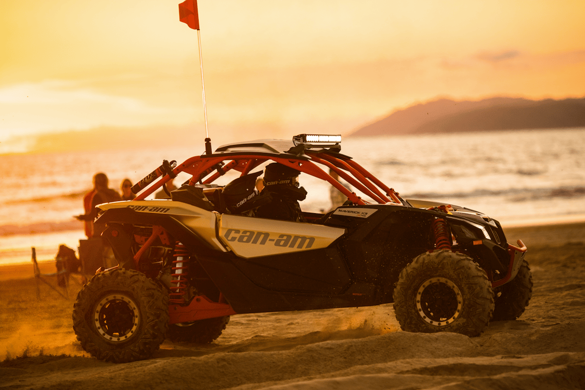 Can-Am's blistering new 172 hp Maverick side-by-side