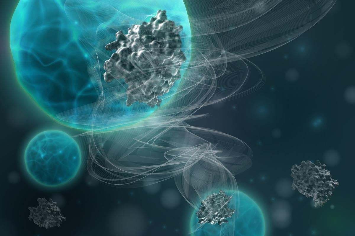 New nanoparticles developed at MIT could reveal signs of lung disease via the breath
