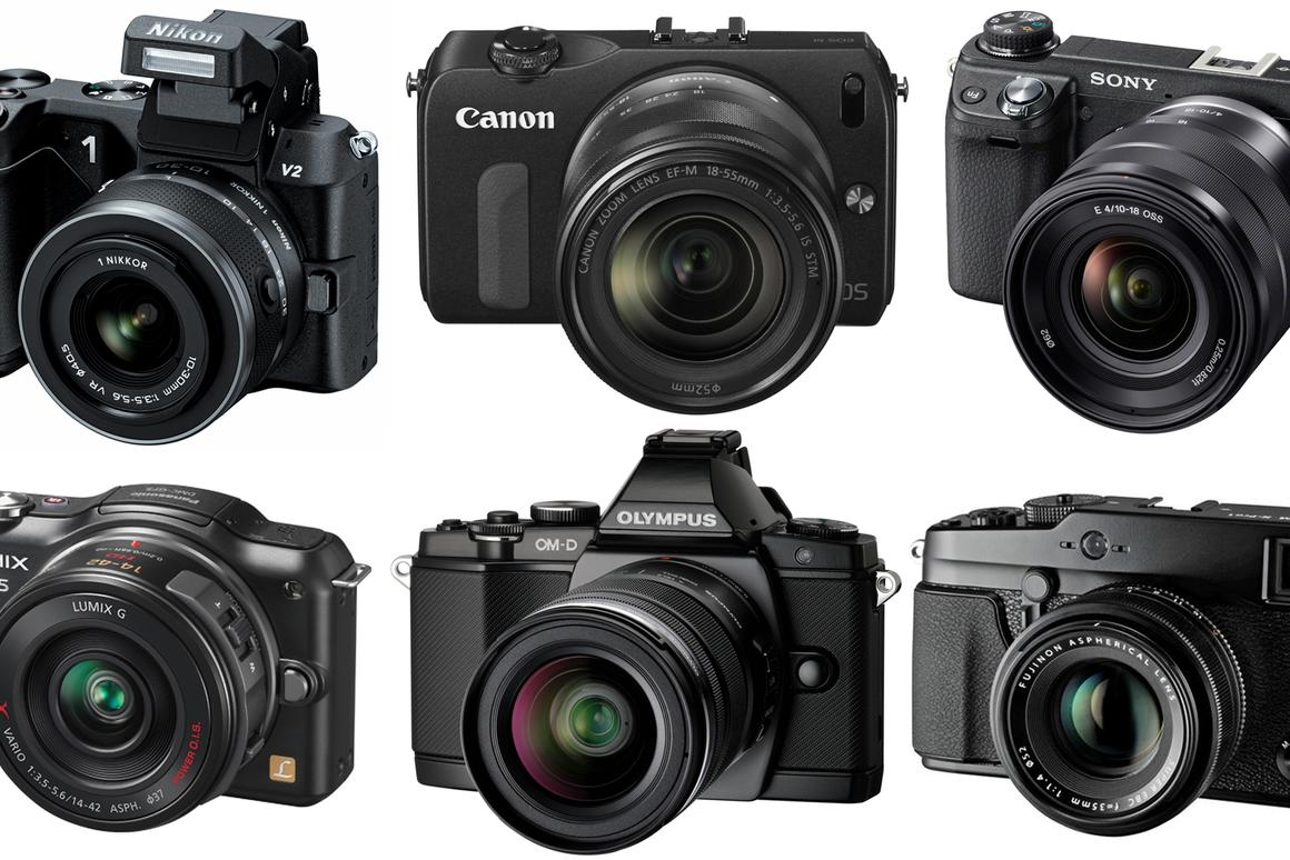 Mirrorless Camera Comparison Guide 2012