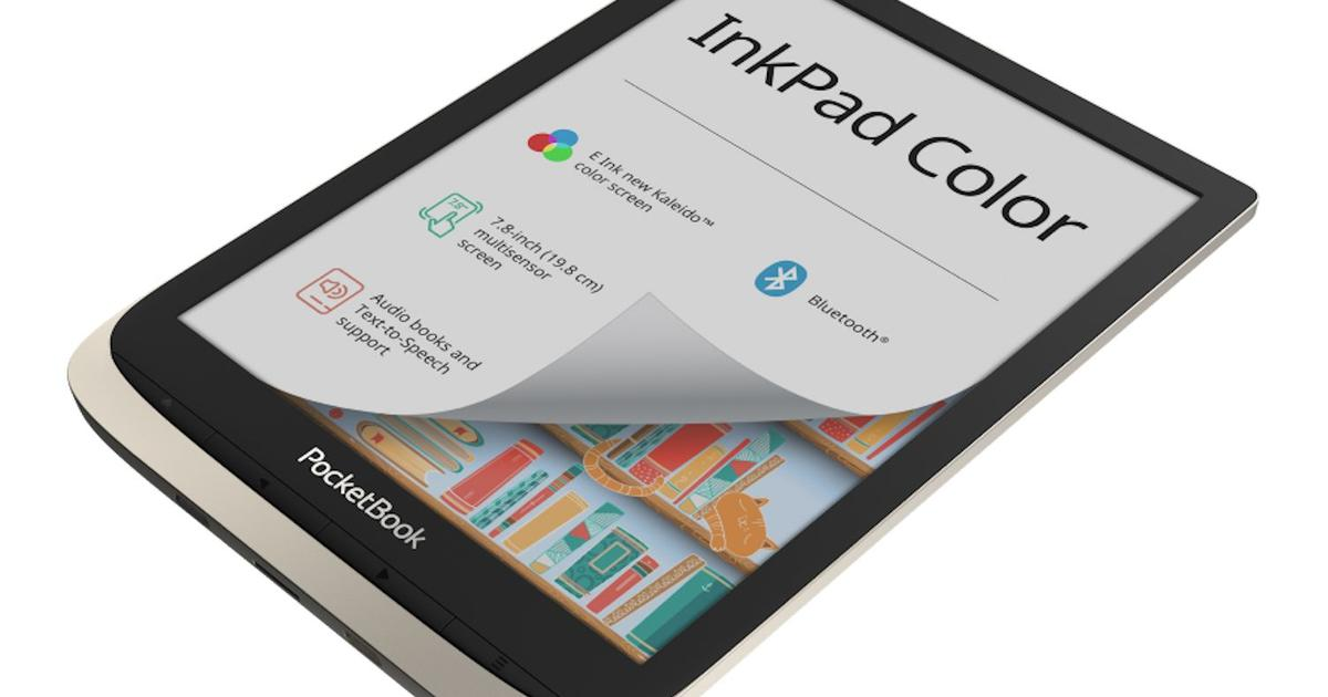 PocketBook's latest e-reader first to use new E Ink color display tech