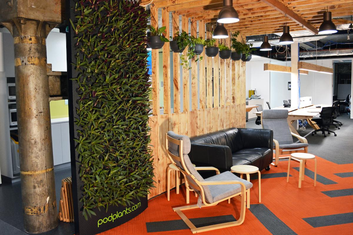 PodPlants are a portable, lightweight, modular vertical garden with a unique design and watering system.