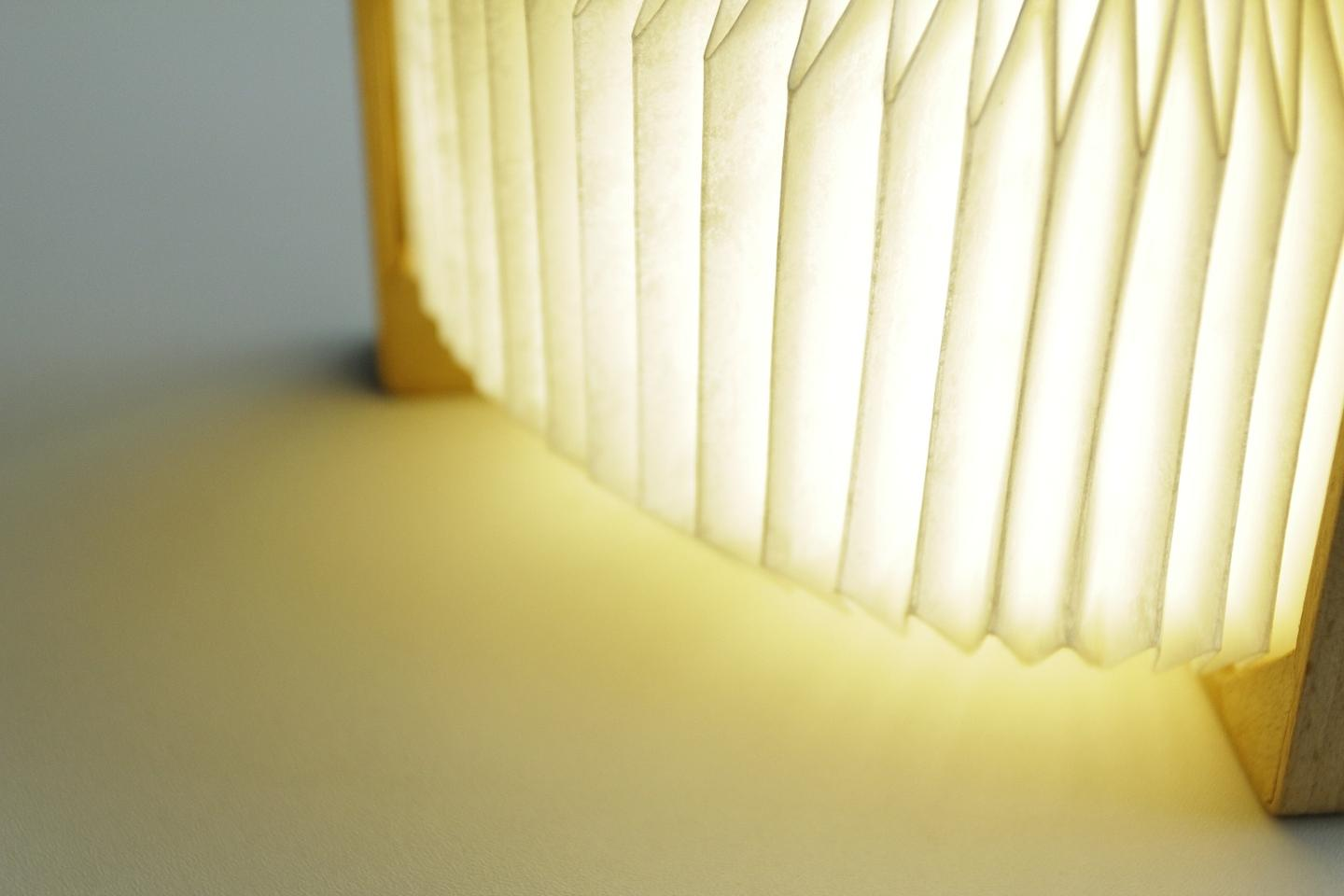 Orilamp uses heat-resistant novex material made by DuPont