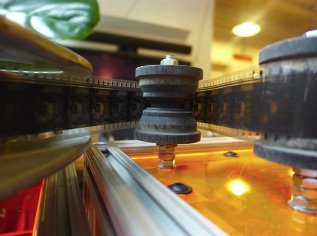The Kinograph utilizes 3D-printed rollers to create an affordable system for digitizing 35, 16, and 8 mm films