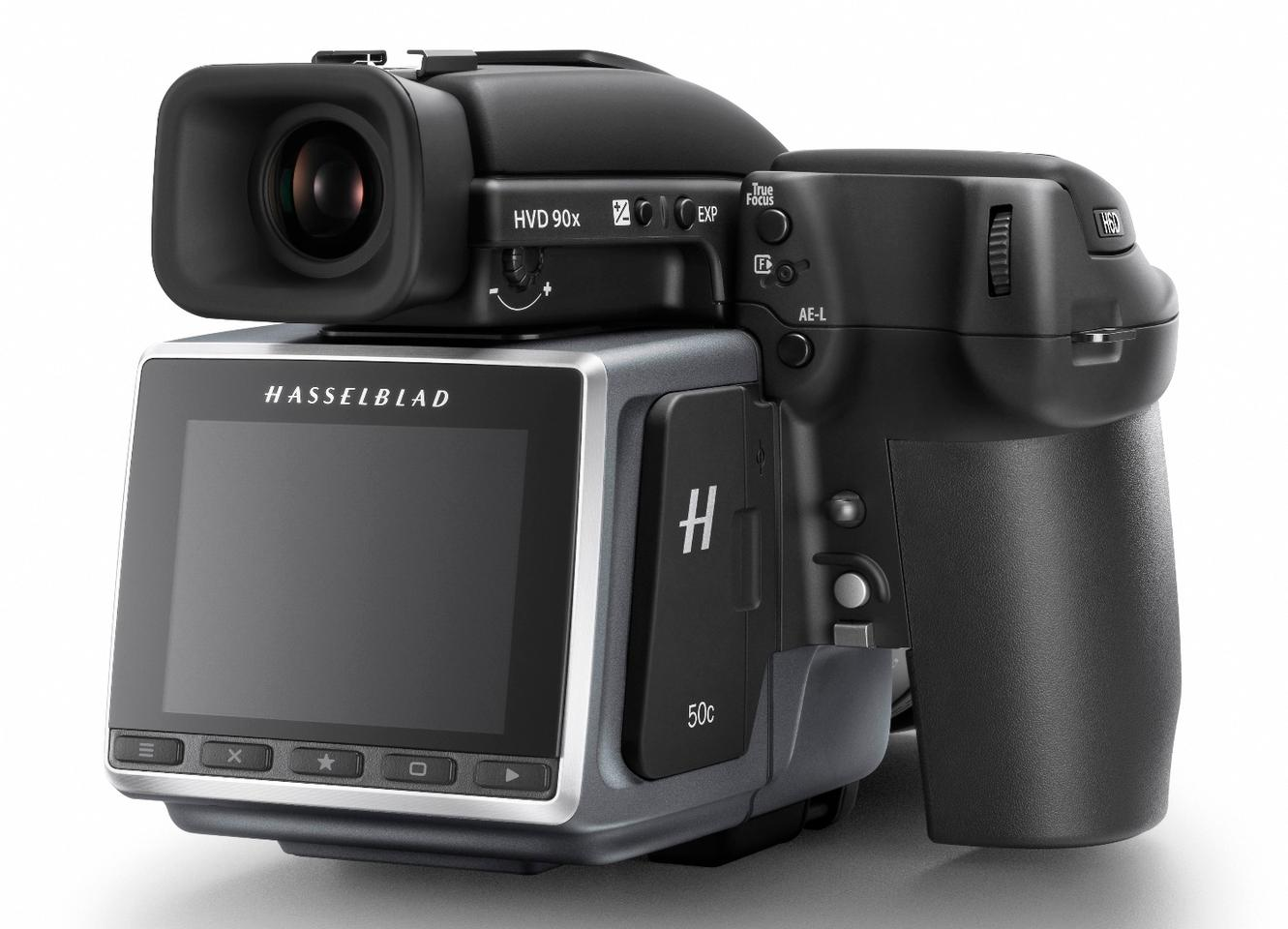 The Hasselblad H6D-50c has a shooting rate of up to 2.5 fps