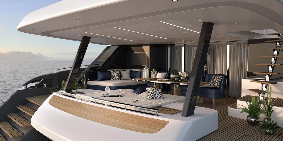 Sunreef won't be debuting the 79-foot (24-m) 80 Sunreef Power until the Cannes Yachting Festival in September this year, but Rafael Nadal has already signed up for a one of his own