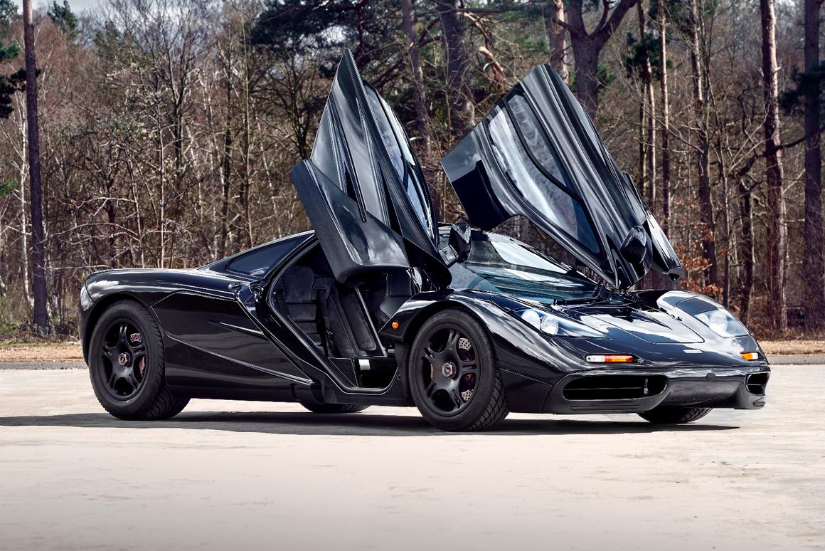 McLaren offers up sub-3,000-mile, Concours-condition F1