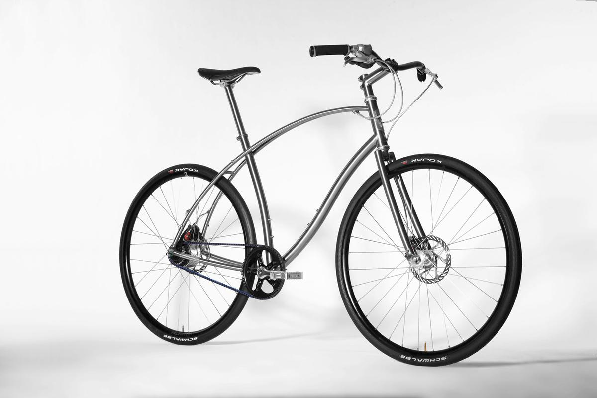 Paul Budnitz has developed two Titanium-framed luxury bikes that feature a cyclist's wish list of high-end components
