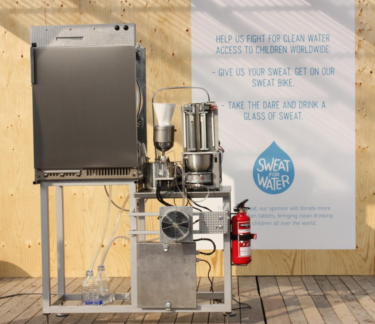 Andreas Hammar's Sweat Machine